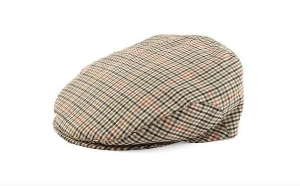 Checkered beret