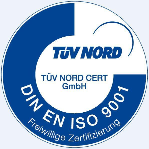 Zertifizierung DIN EN ISO 9001