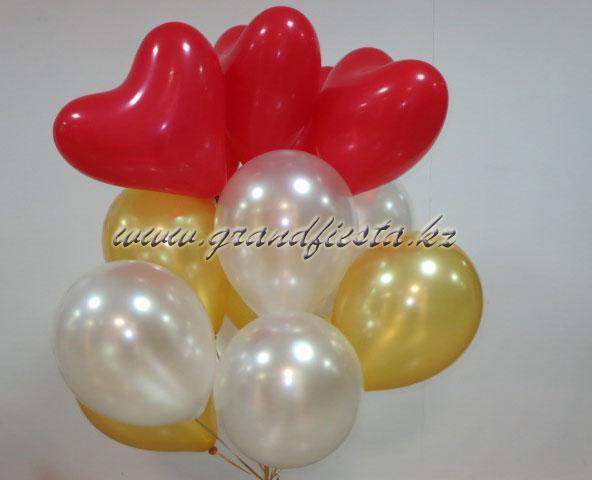 Воздушные шарики от http://www.grandfiesta.kz заходите, выбирайте, заказывайте шары надутые гелием и обработанные.  И мы вам доставим вам по городу Алматы.