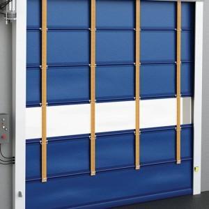 puerta de fabricante europeo puedes abaratar el coste de la puerta ayudando al montaje de la misma, pvc innifugo, sistema de seguridad posibilidad mando , bucle de presencia