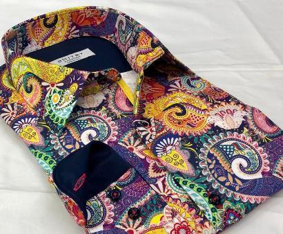 Digital print men's shirt production