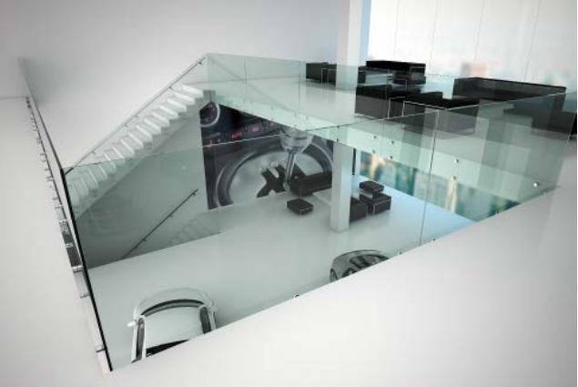 Barandillas de vidrio