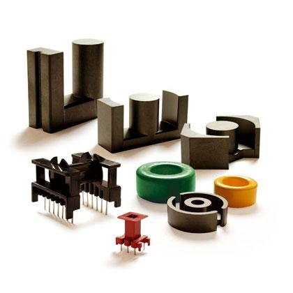 The key position in our offer are ferrite cores that belong to the group of soft magnetic materials. Accessories for inductive components are natural complement to the ferrite cores.