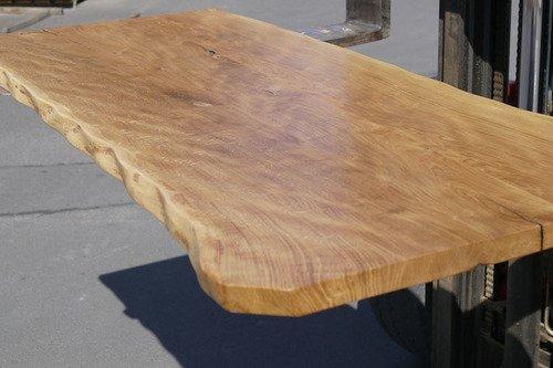Tischplatte handgeschliffen