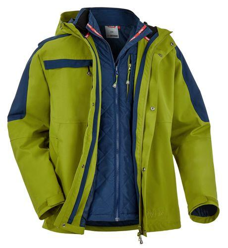 Herren-5-in-1 Jacke THUNDER BAY