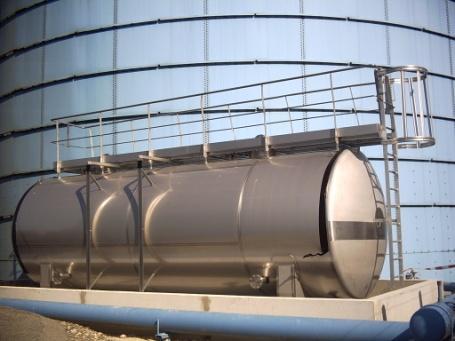 Cuves de process et de stockage pour la chimie fine. Process et stockage chimie fine.