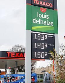 afficheur prix carburant