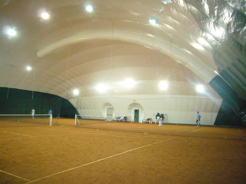 Europlast  Copertura campi da tennis
