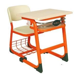Desk size: Desktop: 45x63, 50x70 Profile: 32x50x2 mm Height: 65, 70, 75 h  Chair Size: Seat Backrest: PPC Profile: 20x40x1.5 Height: 37,40,45 h