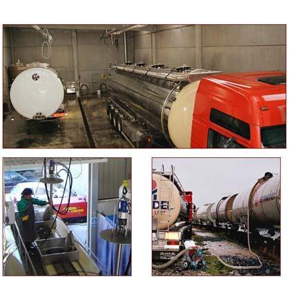Transportes cisterna
