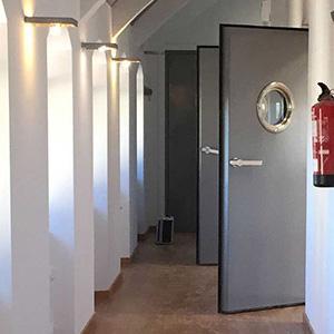 Door acoustic