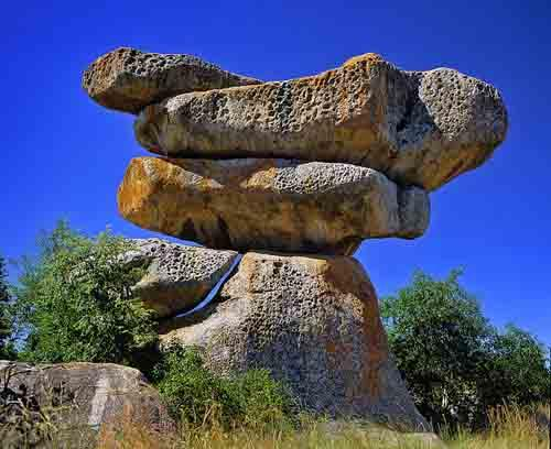 Granite Balancing Rocks