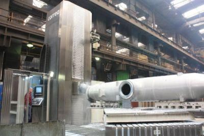 We provide machining of large welded structures. We have modern machining centers that allow machining of high accuracy.
