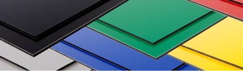 Kunststoffplatten im Zuschnitt