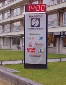 Affichage heure et température