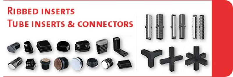 Ribbed inserts, Tube inserts & Connectors