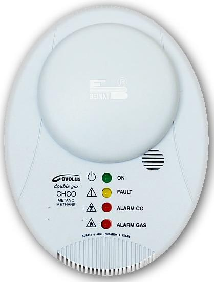 Houseold Natural Gas & Carbon Monoxide Detector