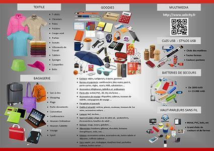Descriptif de nos possibilités de produits