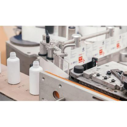 Production product labeling