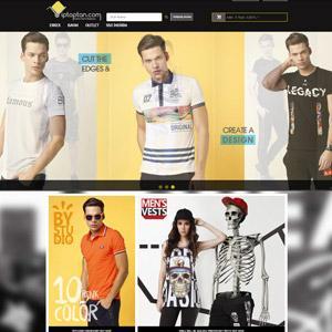 Home page of wholesale e-commerce web site, viptoptan.com