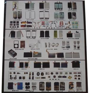 mobile phone parts and accessories
