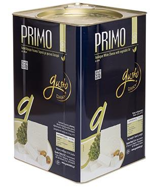 Primo is made with vegetable fat and it is perfect for daily basis consumption. It is also suitable for accompanying the main dishes and for making pies or salads.