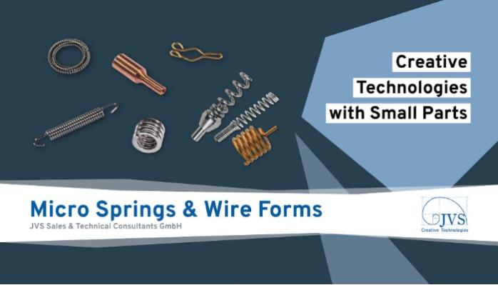 Small Parts | Micro Springs & Wire Forms | Motion Dynamics Corporation