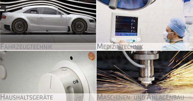 invenio arbeitet branchenunabhängig. Kernwirtschaftszweige sind die Fahrzeugindustrie, Medizintechnik, Haushaltsgeräteindustrie sowie der Maschinen- und Anlagenbau.