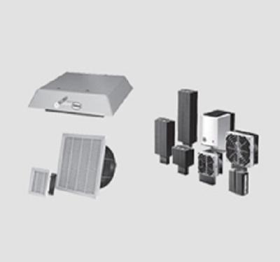 Sistemi di ventilazione ed accessori per quadro.