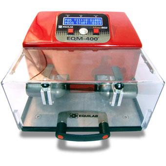 This mill has been designed for the final preparation of small quantities of hard, semi-hard and fragile samples – up to 15 g. -. It can prepare two samples simultaneously. www.equilab.es