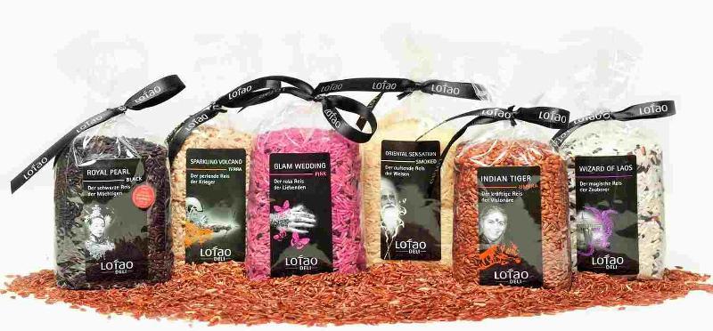 """Die sechse Reis-Spezialitäten wurden bei der ANUGA, der weltweit führende Ernährungsmesse für Handel und Gastronomie/Außer-Haus-Markt, als """"Biomarke des Jahres 2016"""" ausgezeichnet."""