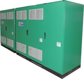 Highly customized 2x100 kVA industrial UPS