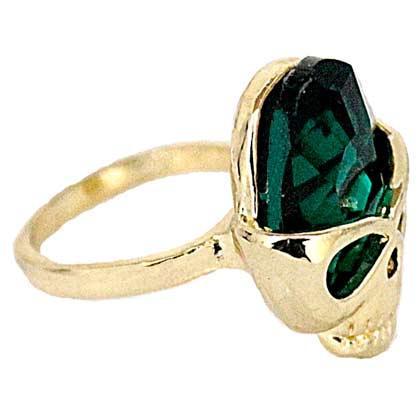 Bisutería, anillo calavera