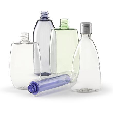 Plastikflaschen nach Kundenwunsch