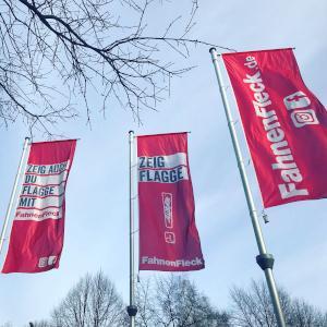 Werbeflaggen
