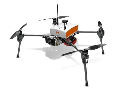 Le Fox4 est un drone multi-rotors aérien . Sa structure légère et sa motorisation lui permette d'être extrêmement maniable au pilotage manuel. Pour le mapping et l'inspection technique.