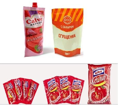 Laminated stand-up pouches or vacuum bags are available printed up to 10 colors or nonprinted.