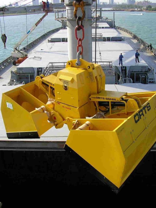 elektro-hydraulischer Schiffsgreifer 12m³