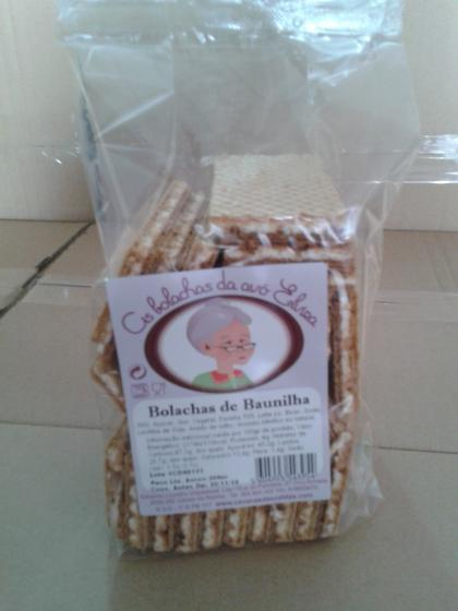 Traditional Portuguese vannila wafers, 12 months validity. Premium quality www.cavacasdascaldas.com