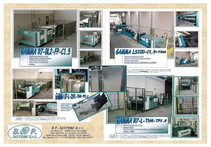 MACCHINE PER PRODUZIONE  CANALIZZAZIONI A/C  - PRODUCTION LINES FOR HVAC DUCTS