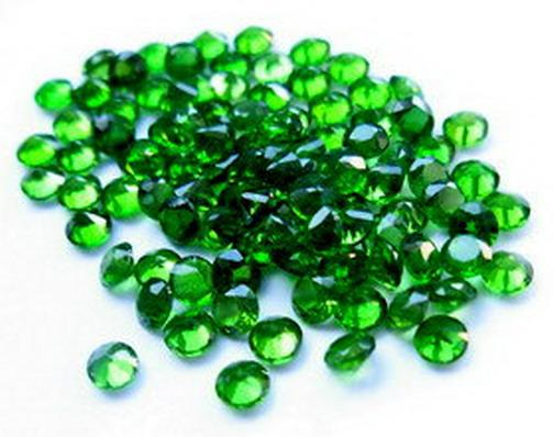 Natural chrome-diopside