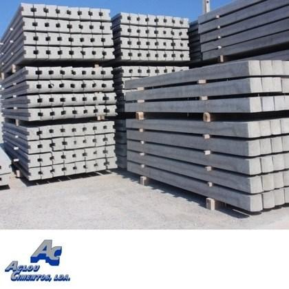 Construction materials - Precast concrete pillars - Aglou Cimentos