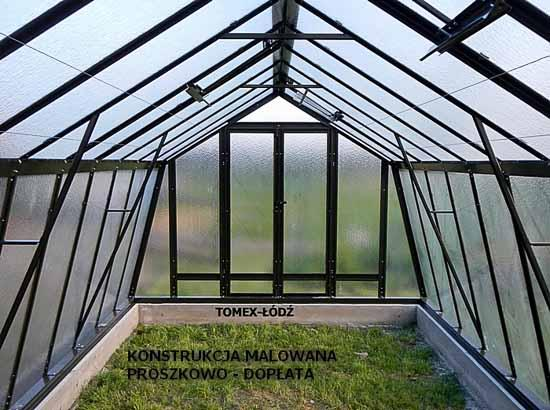Greenhouse steel - painting RAL