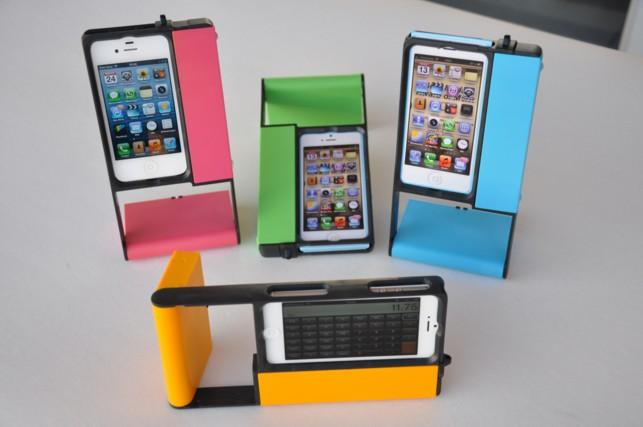 """The multipurpose iPhone case 4ALL-CASE """"» www.youtube.com/watch?v=6wQtIqhX5Ac fits perfect all five iPhone models 4, 4S, 5, 5S and 5C and offers a lot of functions!"""