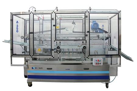 A-350 Cylindrical container rolling-can labelling machine