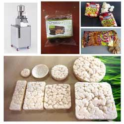 Rice Cake (Popping) Machine for Raw Grains