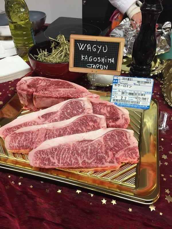 EURODIS VIANDES est grossiste viande Wagyu Kagoshima Japon.