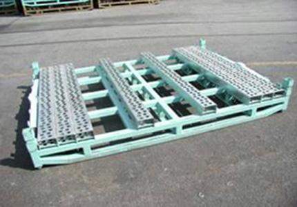 Industrial Steel Pallet. Manufacture of any production according to drawings. Painted or galvanized.