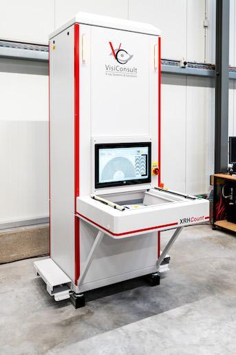 Das weltweit schnellste und genauste Zählsystem basierend auf Röntgentechnologie. Durch sein komplett kontaktloses Arbeitsprinzip können auch Komponenten in ESD-Folie ohne öffnen gezählt werden.