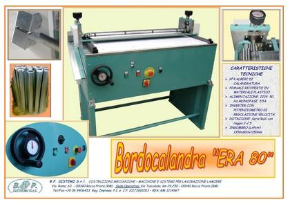 "BORDER & CALANDER MACHINES "" ERA80"""